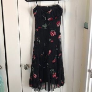Nicole Miller Collection Rose overlay Dress